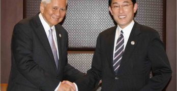 PH, Japan foreign affairs ministers discuss issues of mutual concern