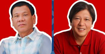 Marcos being considered as Duterte's running mate