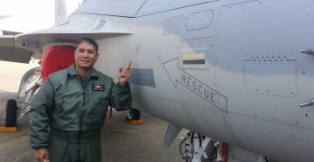 Air Force commander flies FA-50PH jet at Mach 1.2