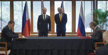 PH, Russia sign two agreements for stronger cooperation