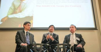 Marcos wants young Filipino-Chinese businessmen to help building the nation