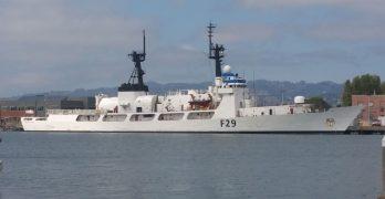 Bangladesh naval ship in Manila