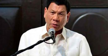 Duterte now running for president: Land's highest post must be reserved for true Filipino