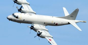 Military aid from Japan not intended to solve sea row militarily