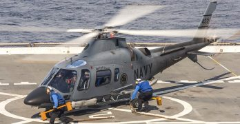 All Navy AW-109Es likely to be deployed for APEC security work