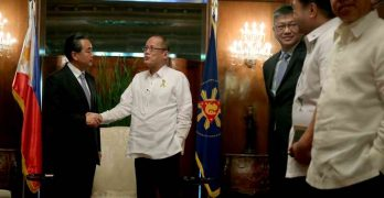 Chinese Foreign Affairs Minister pays courtesy call to President Aquino