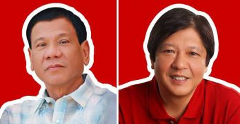 Marcos says he will vote for Santiago, not Duterte