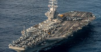 US Navy aircraft carrier USS Ronald Reagan completes 2015 patrol
