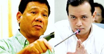 Survey topped by Duterte rigged, violative – Trillanes