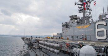 US Navy amphibious assault ship departs Japan for patrol