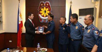 LOOK: FBI awards PNP-SAF