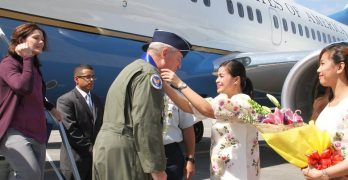 US Air Force Top General Visits Philippines