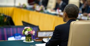Obama receiving ASEAN leaders on US Presidents' Day