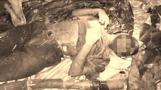 Bernie Pepito Alima alias King, Vice-CO, Andoy Platoon of the Pulang Bagani Company 1. 10ID Photo