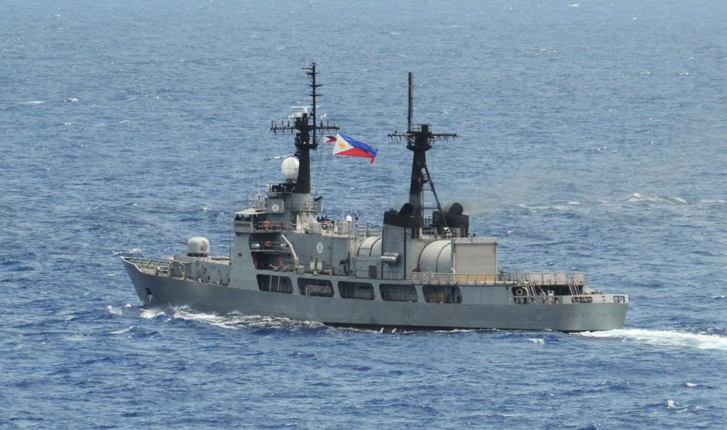 BRP Gregorio Del Pilar leaves Manila for 2 naval maneuvers ...