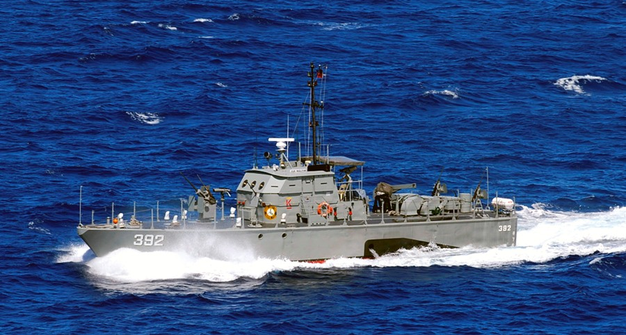 Navy Gunboat Responds To Distressed Boat Update Philippines