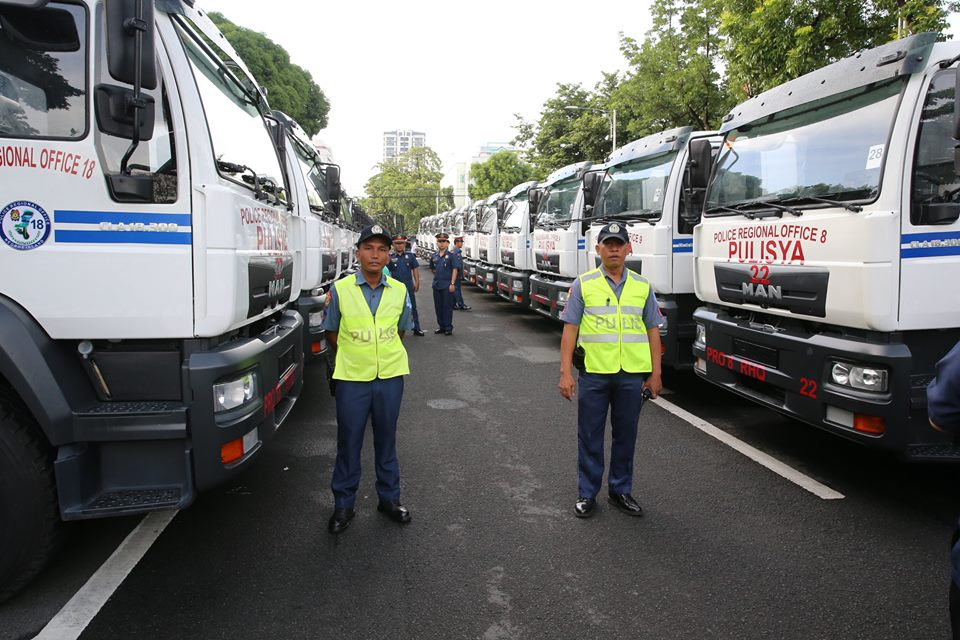 National Police Acquires 48 Heavy Duty Trucks Update