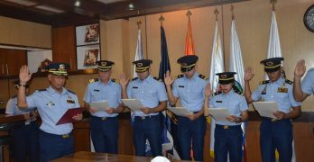 Gerald Anderson now a Coast Guard Auxiliary Lieutenant