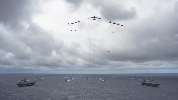 Valiant Shield 2014. US Navy photo
