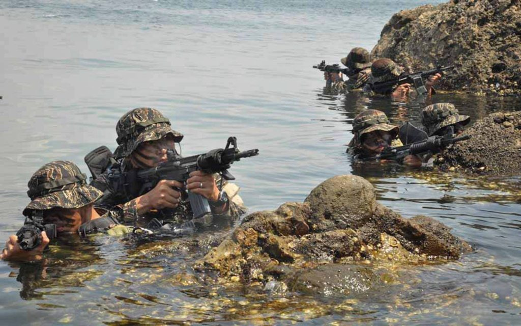 PH, US forces conclude mine search, underwater search-and ...
