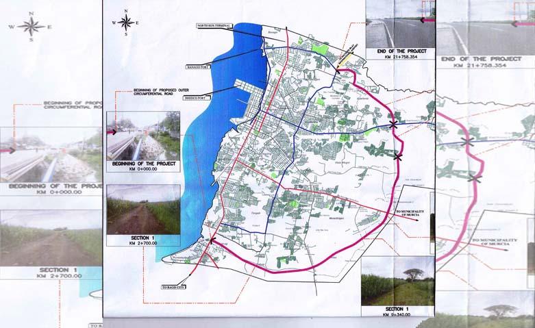 Bacolod Economic Highway Bidding Process Starts Next Week Update - Bacolod map