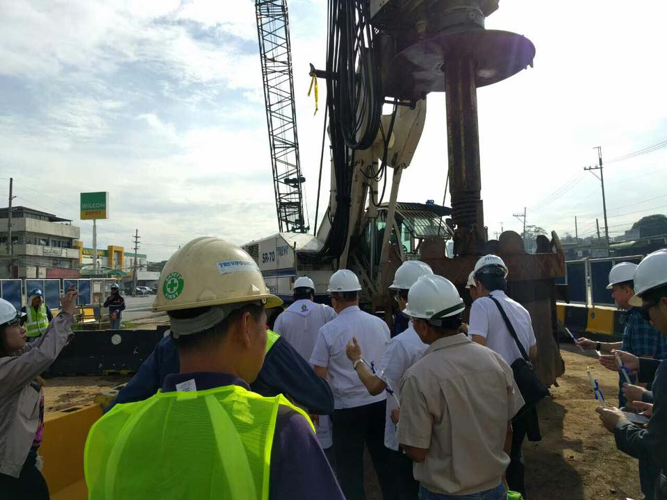 Hyundai San Jose >> Groundwork for MRT 7 officially starts - Update Philippines