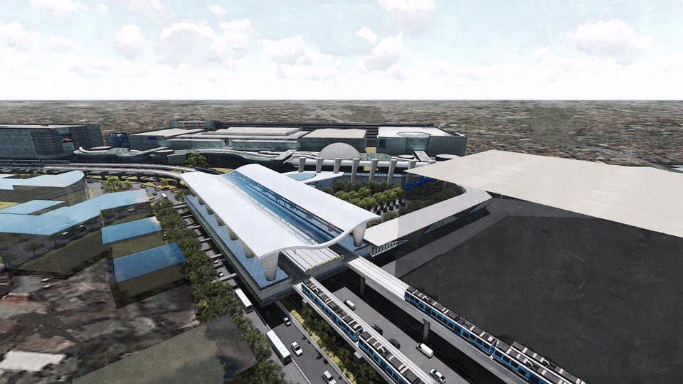 Government Releases Design Of Mrt Lrt Common Station