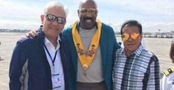 Steve Harvey now in Philippines