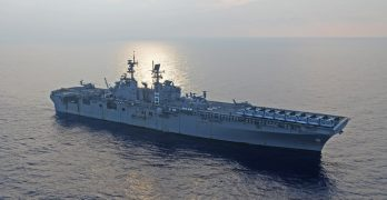 US Navy amphibious assault warship leaves Japan for patrol mission