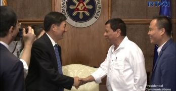 President Duterte receives credentials of Egypt, Vietnam, Bangladesh ambassadors