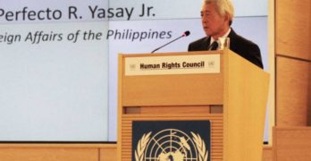 Yasay to world leaders: War on drugs a commitment to Filipinos