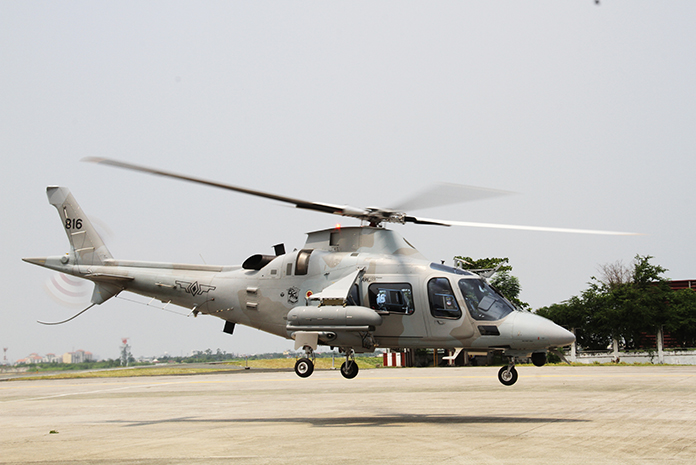 Air Force Attack Aw 109s Up For Preventive Maintenance