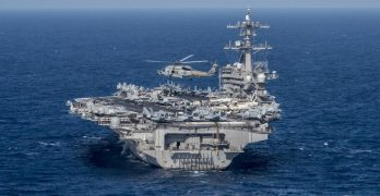 North Korea now in 'striking range' of Carl Vinson Carrier Strike Group