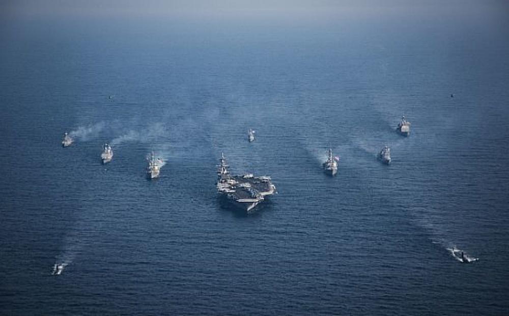 Trump sending very powerful armada to Korean peninsula ...
