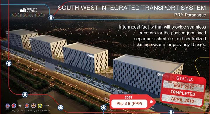 Southwest Terminal Of Integrated Transport System