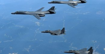 US bombers fly with SoKor F-15s in Korean peninsula