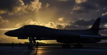 2 US bombers fly over South China Sea