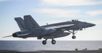 US FA-18E nearly collided with Iranian drone