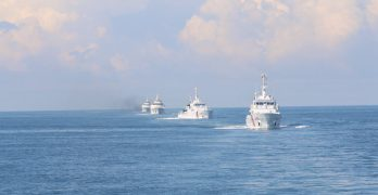 Philippines commissions three Japan-made patrol vessels