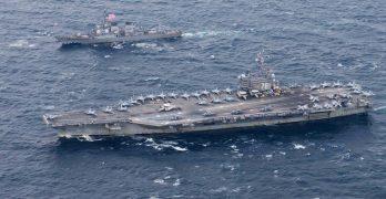 US supercarrier completes war games with Korea
