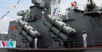 Vietnam launches two missile corvettes