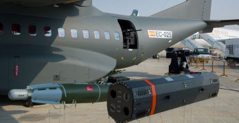 Airbus showcases armed C-295 aircraft