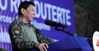 Duterte wants former security officers back against NPA SPARU
