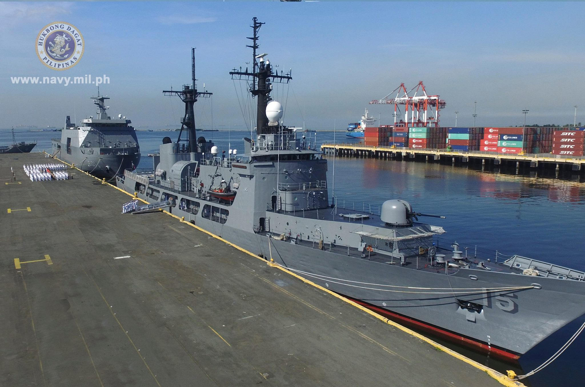 Philippines Sends Largest Warship Frigate For Asean Wargames