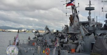 Australian warships visit Cebu