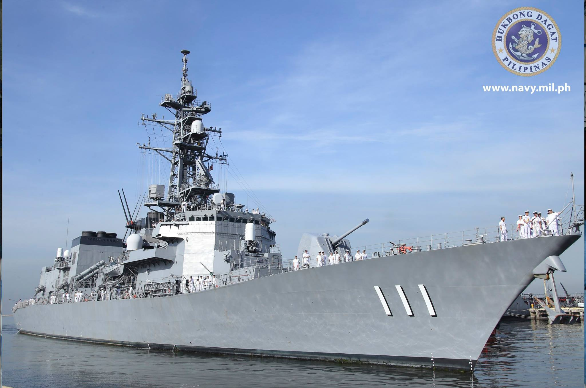 Retired Analyst Photos Japanese Destroyer Welcomed By Philippine Navy