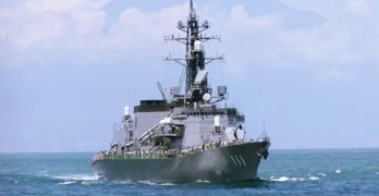 Japan anti-submarine destroyer arrives in Philippines