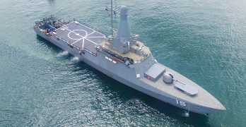 Singapore sends first littoral mission vessel for ASEAN wargames