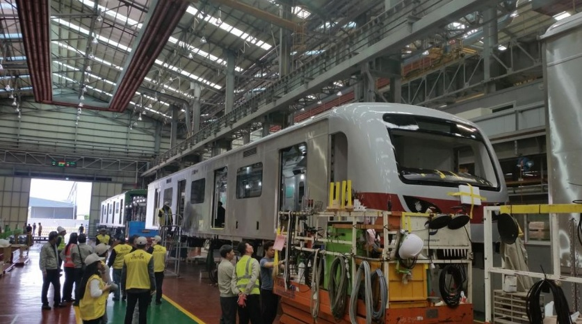 Look Construction Of Train Cars For New Ph Train Line