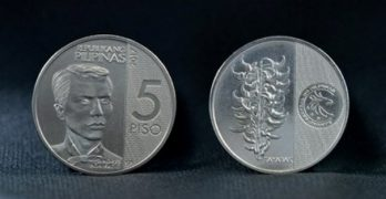 LOOK: New 5 peso coin design released